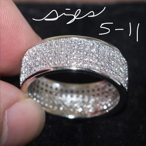Other - All Bling Wedding Ring